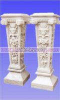 marble carving, colume, pillar. stone column