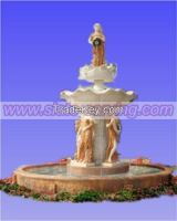 water fountain, marble carving, china marble, stone fountain