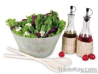 5pcs Glass Salad set