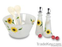 5 pcs Glass Salad Making set