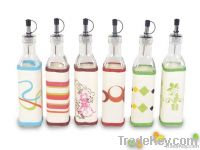 2 pcs oil & vinegar bottle set