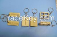 sell key chains, pins, badges, brooch, label, key rings, sign.