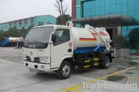 Dongfeng 4000Liters Vacuum Sewage Truck