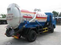 4000L Vacuum Sewage Suction Truck