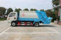 5 m3 Compression Garbage Truck