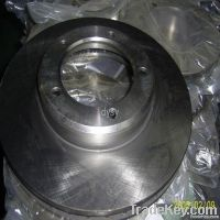 Auto Rear Brake Disc & Rotor For Japanese Cars