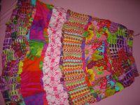 Long tier skirt