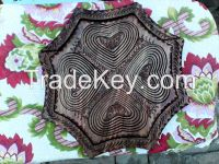 Wooden Dry Fruit Folding Basket