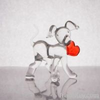 Dog with a heart