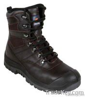 ClaretNitrile Rubber Sole Boot.