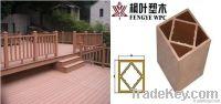 wood plastic composite (wpc )pillar