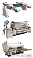 Corrugated board production line