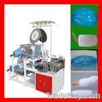 plastic disposable arm cover making machine