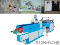 plastice T-shirt shoping bag making machine