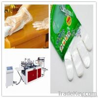 disposable plastic glove making machine