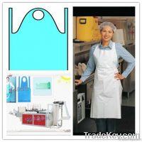 plastic apron makingmachine