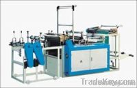 plastic garbage bag making machine