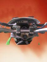 crf 150 motorcycle handlebar rise and protector