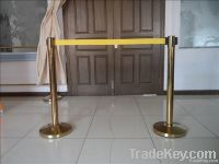 2m any color retractable  belt queue barrier