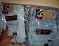 Refurbished denim jeans pants/ Used jeans pants for Mens and womens
