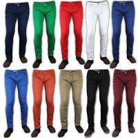 Denim Color Skinny Jeans Pant For Mens