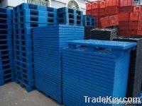 Nine feet single deck plastic pallet