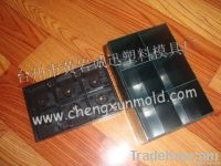 plastic battery mould/battery case mould/plastic car battery shell
