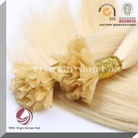 Brazilian Virgin Human Hair Pre-bonded Hair Extension