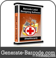 Healthcare industry barcode label software