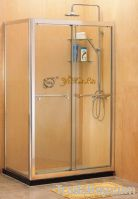 Double sliding doors screen