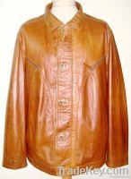 Odla Mens Leather Jatcket