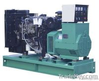 220v diesel generator set with wheels