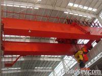 Double grider QD type 10Ton EOT crane with hook