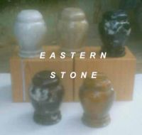 ONYX, MARBLE, FOSSIL STONE PET URN, NAMEPLATE, MARKER, VASES, MEMORIAL CANDLE HOLDER