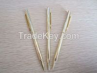 High Quality Promotional pens Popular metal ballpoint pens metal pen