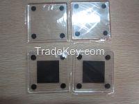 Square Blank Photo Insert Acrylic Coaster