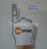 Sports Cheering EVA Foam Hand Foam Finger