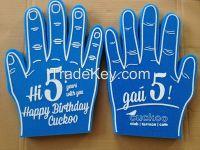 Promotional Cheering Sponge Foam Finger Foam Hand