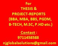 College Project-Reports & Thesis (Any)