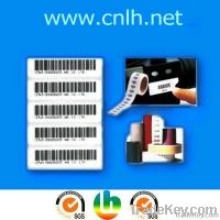 adhensive barcode label roll