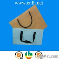 blue small gift paper bag