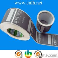 offset self adhesive printed shipping labels