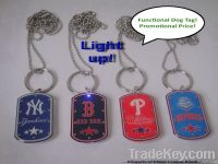 LED Dog Tag