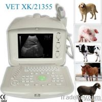 Digital portable veterinary ultrasound scanner