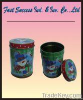 Christmas Gift Tin Box/ Christmas Design Metal Box/ Tin Can/ Gift Box