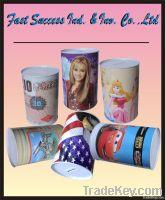 Promotional Tin box / Money Saving Bank/ Metal Coin Bank/ Gift Tin Cans