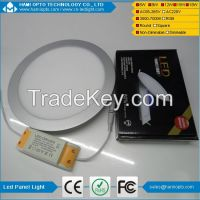 LED round thin panel light 6W