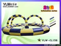 inflatable jumping trampoline, children inflatable bouncer, inflatable jumping bed