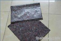 absorben fleece/fiber mat with a film coated(LDPE)