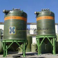 Fiberglass Chemical Vessel
